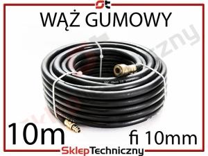 Gumowy Wąż Pneumatyczny do kompresora 10m 10mm
