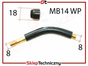 Uchwyt spawalniczy Palnik uchwytu MB14 MB 14 WP migomatu S/FAJ14AKWP   A