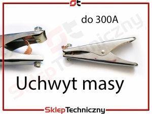 Uchwyt masy do spawarki 300A /K/EH-14H 300A C