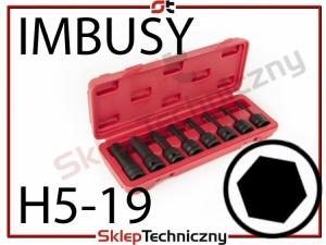 """Nasadki Udarowe Do Klucz UDAROWY 1/2"""" IMBUSY WT01218"""