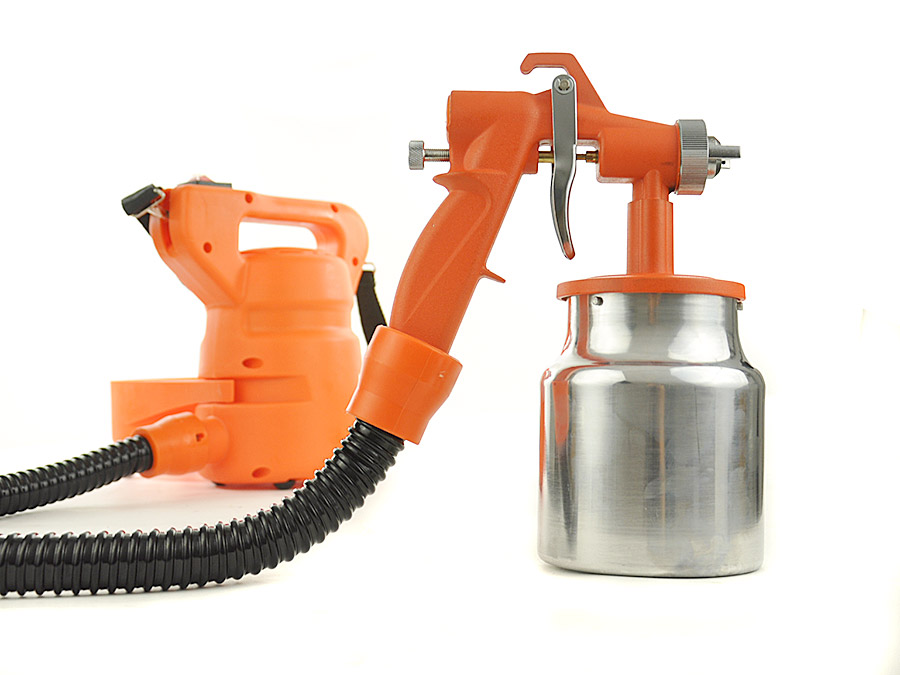 easypainter hvlp electric paint sprayer spray gun garden. Black Bedroom Furniture Sets. Home Design Ideas