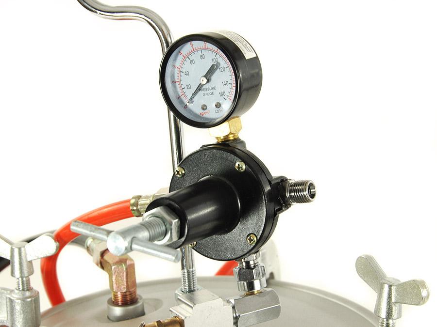Air Pressure For Automotive Metallic Paint